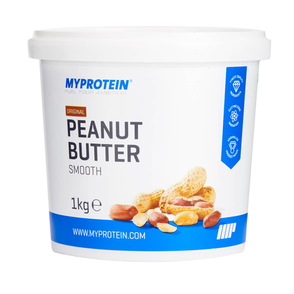 Buy Natural Peanut Butter (Crunchy or Smooth) | Myprotein.com