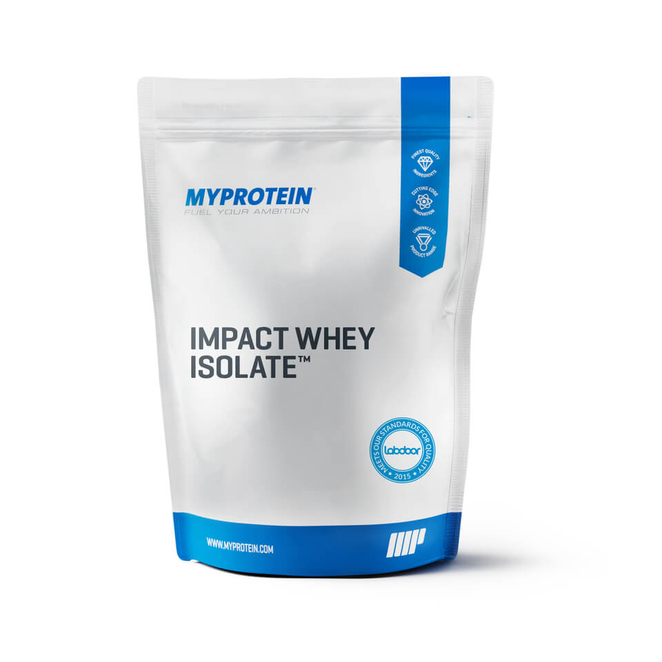 nutrition sportive impact whey isolate