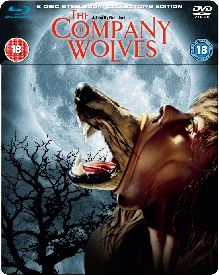 The Company of Wolves - Steelbook Edition (Blu-Ray and DVD) Blu-ray | Zavvi.com