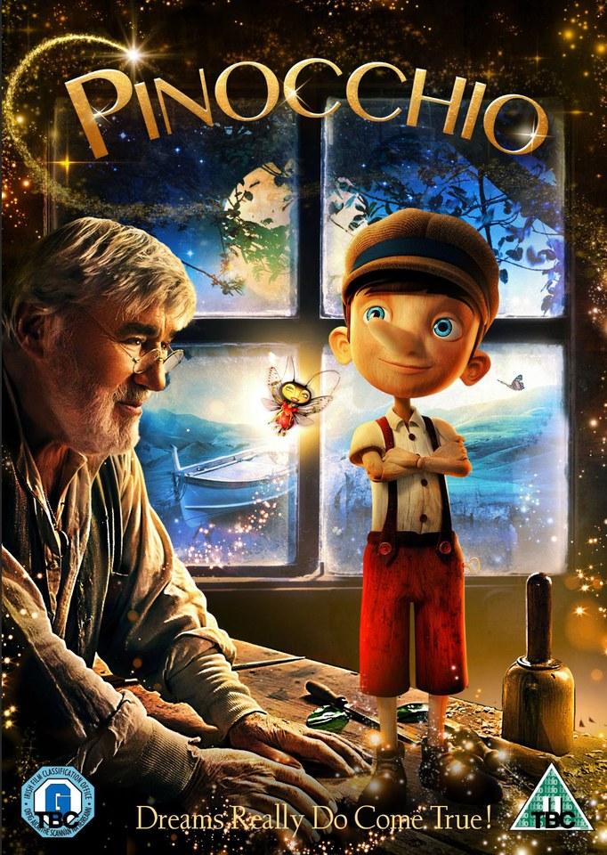 Pinocchio Dvd Zavvi Com