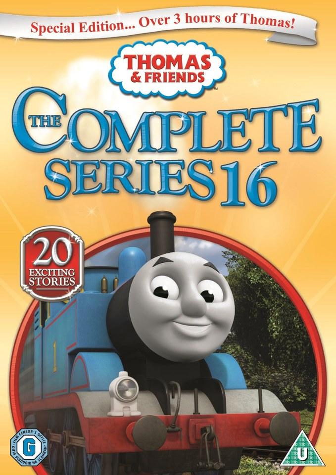 Thomas Amp Friends The Complete Series 16 Dvd Zavvi Com