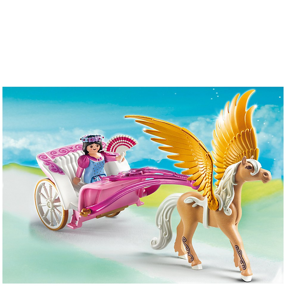 Playmobil Princesses Pegasus Carriage 5143 Toys