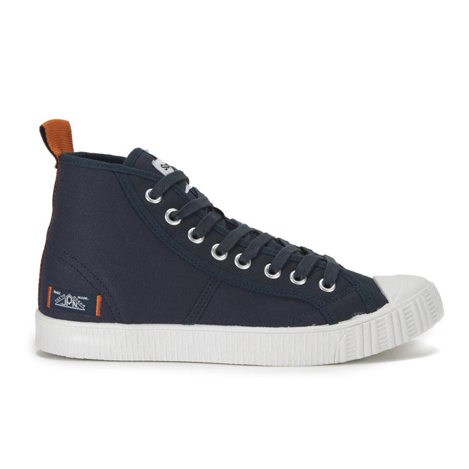 High Top Trainers Eclipse NavyOff White Mens Footwear TheHutcom