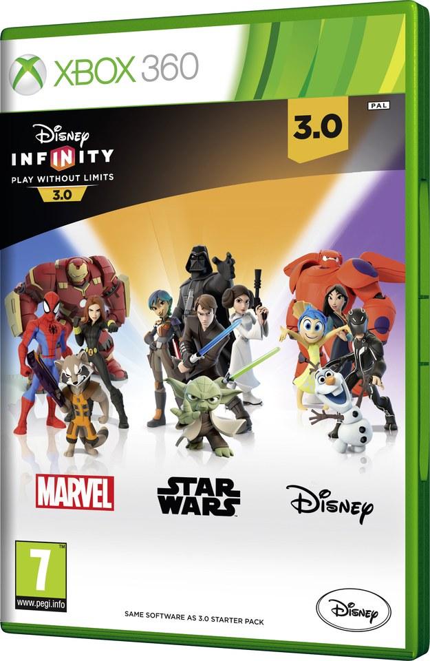 Disney Infinity 3.0 - Game Only Xbox 360 | Zavvi.com
