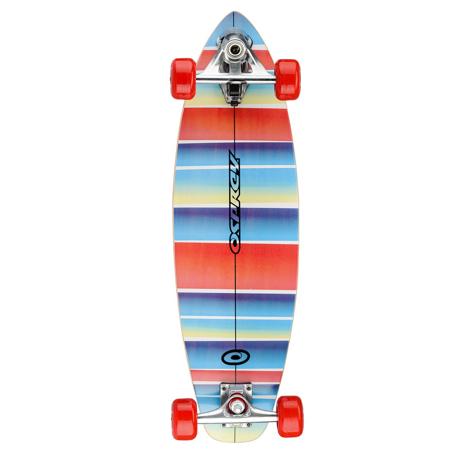 Osprey Stripe Carver Skateboard - 29 Inch Sports & Leisure ...