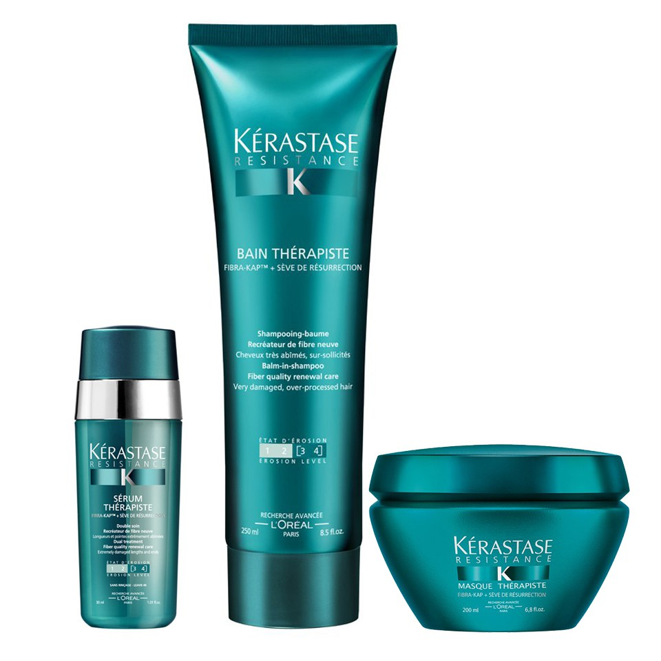 K 233 Rastase Resistance Therapiste Shampoo Masque And Serum
