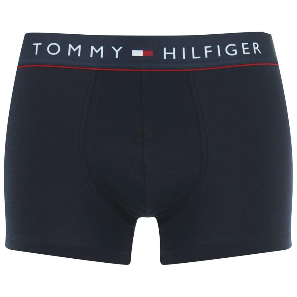 tommy hilfiger men 39 s cotton trunk boxers navy blazer mens underwear. Black Bedroom Furniture Sets. Home Design Ideas
