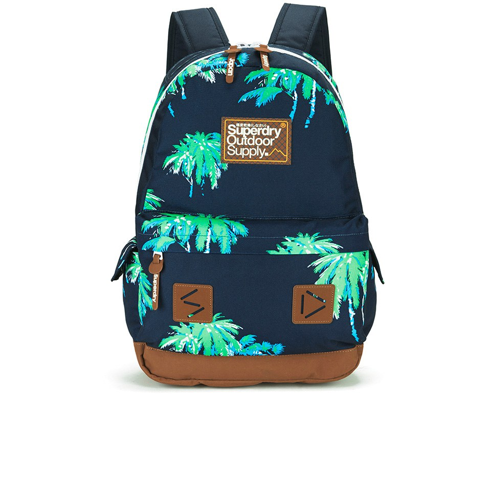 Superdry Mens Super Palm Montana Backpack Eclipse Navy