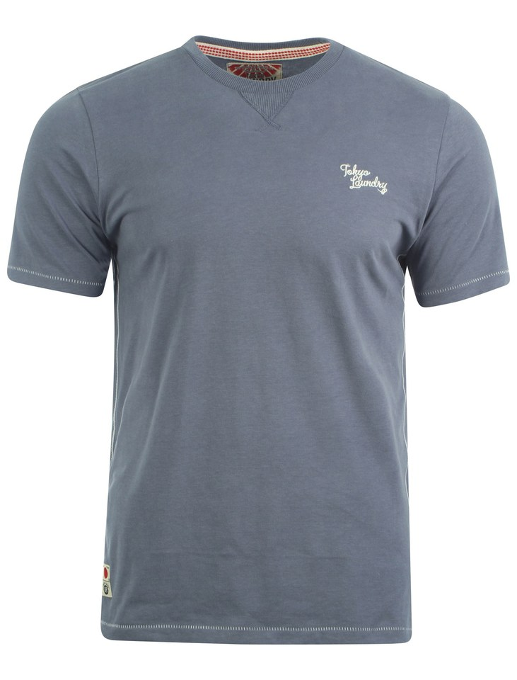 Tokyo Laundry Men S Bailey T Shirt Vintage Indigo