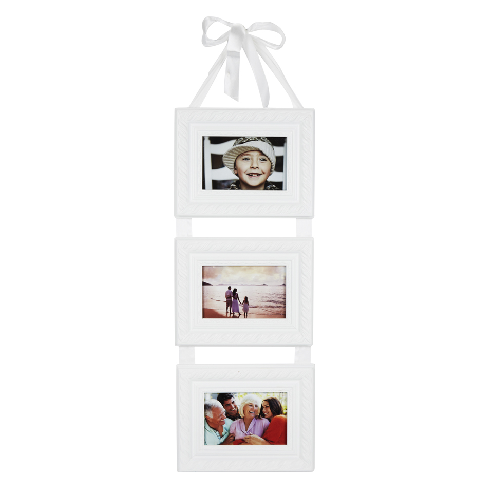 Triple Hanging Frame with Ribbon IWOOT
