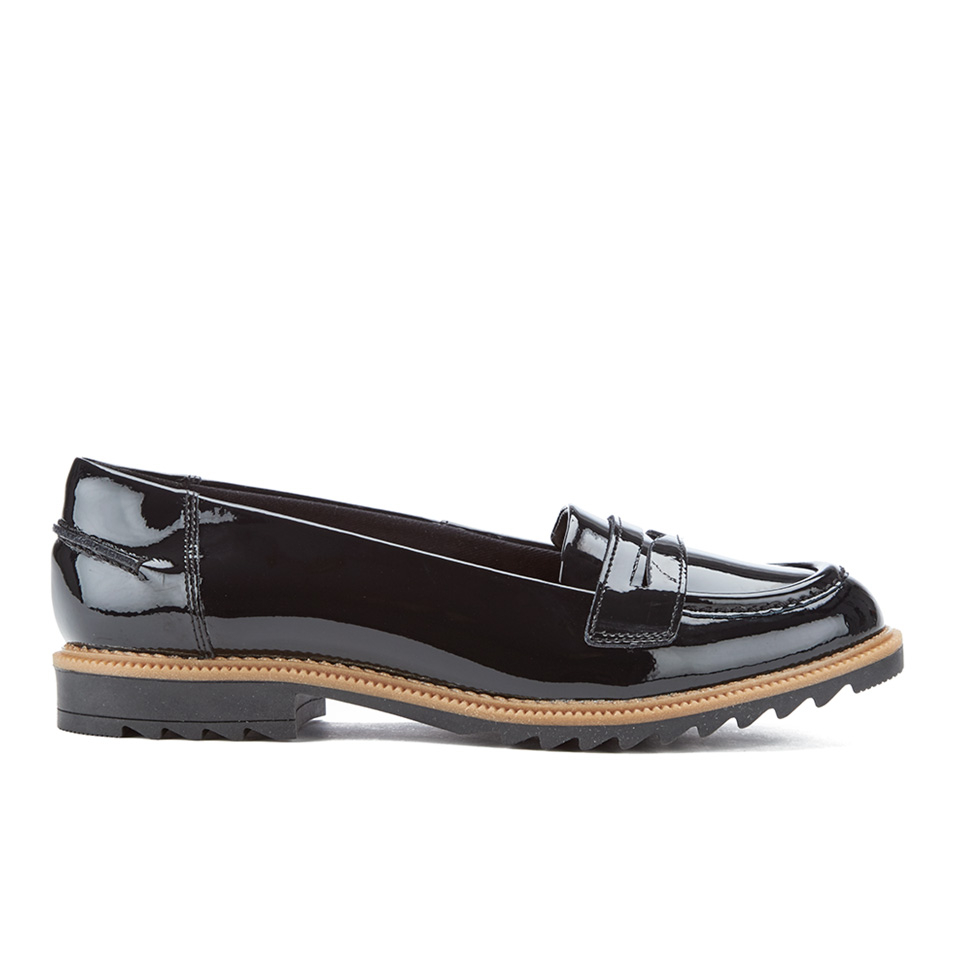 Clarks Women S Griffin Milly Patent Loafers Black Free