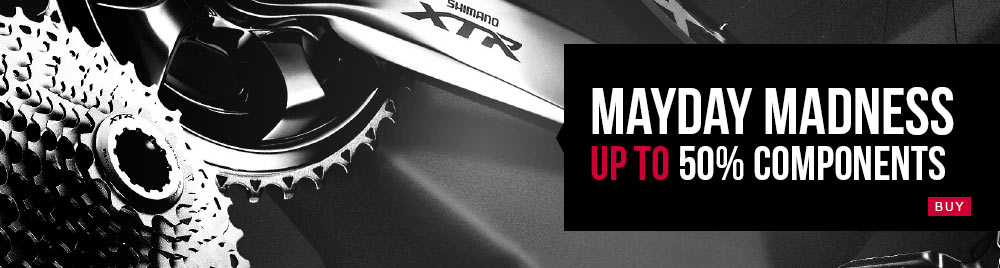 May Day Madness - Up to 50% OFF Components at Probikekit.com