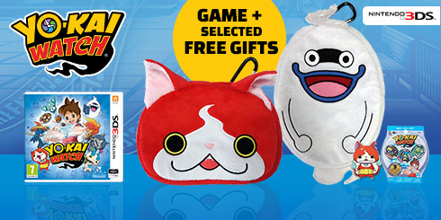 YO-KAI WATCH + FREE Gifts