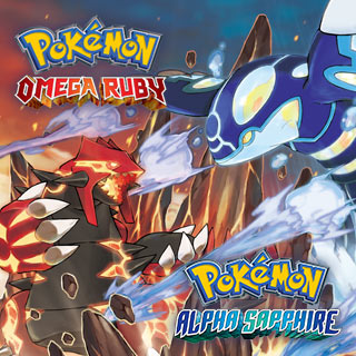 Pokemon Alpha Sapphie and Omega Ruby