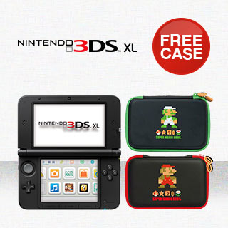 Free Mario or Luigi 3DS XL Hard Case