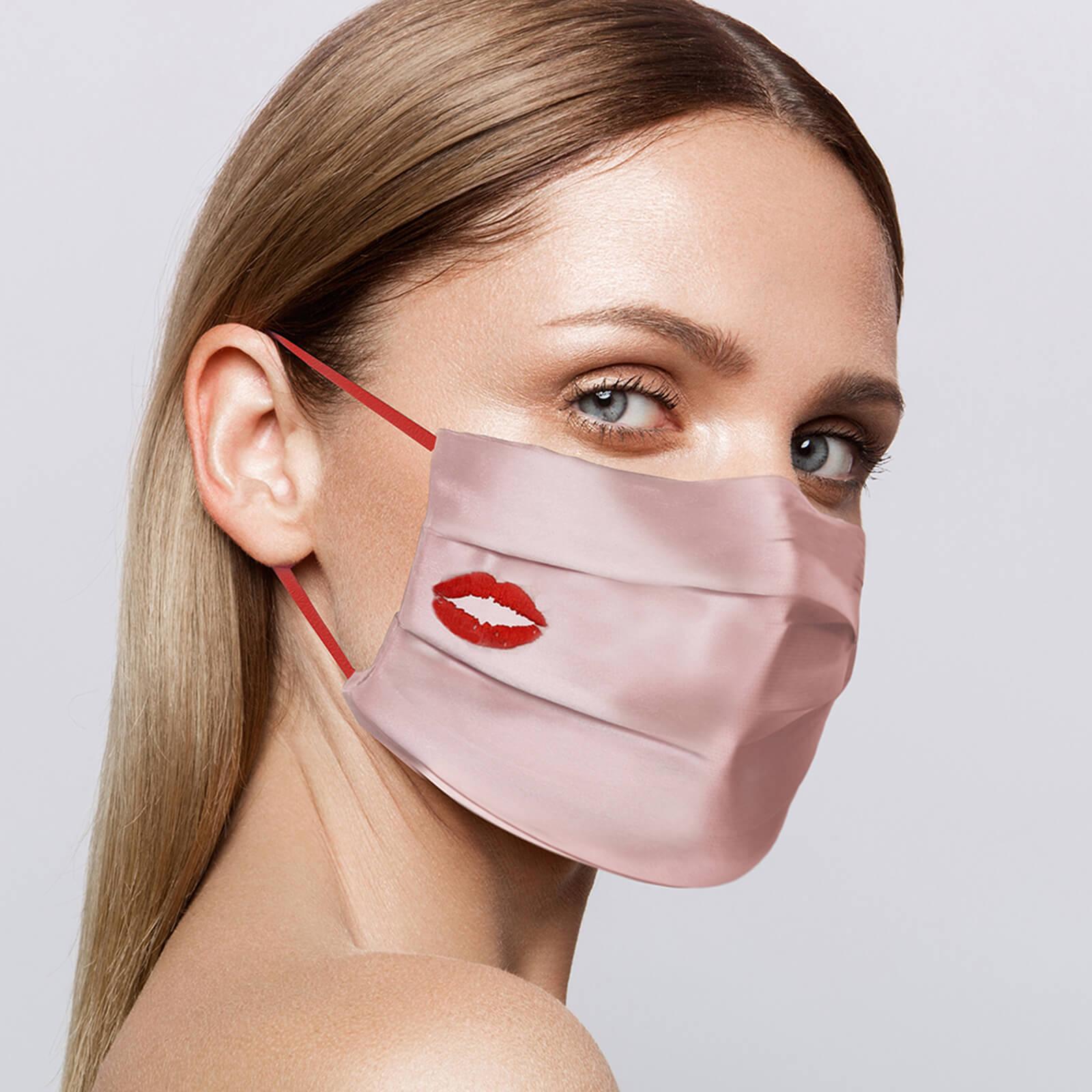 真丝口罩 - Pink Kiss