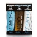 men-ü Ultimate Shave Facial Set - 15ml (3 Products)