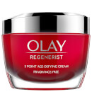 Olay Regenerist Fragrance Free Moisturiser Face Cream with Niacinamide and Peptides 50ml