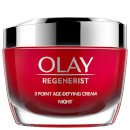 Olay Regenerist Fragrance Free Night Face Cream with Niacinamide and Peptides 50ml