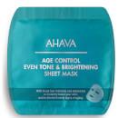 Mascarilla iluminadora y unificadora del tono antienvejecimiento de AHAVA