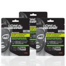 L'Oréal Paris Men Expert Pure Charcoal Face Mask x3 (Worth £11.97)