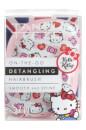 Tangle Teezer Compact Styler Detangling Hairbrush - Hello Kitty Candy Stripes