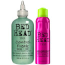 TIGI Bed Head Shiny Hair Styling Set for Smooth Shiny Hair