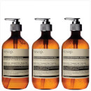 Aesop Geranium Cleanser, Resurrection and Reverence Hand Wash Bundle