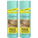L'Oréal Paris Magic Retouch Medium to Dark Blonde Root Concealer Spray Duo Pack