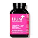 HUM Nutrition Killer Nails Stronger Nails and Hair Supplement (30 Vegan Capsules, 30 Days)