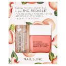 Nails INC. Peach and Perky Varnish and Lip Duo Kit