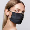 Slip Reusable Face Covering - Black