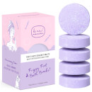 Le Mini Macaron Fizzy Foot and Bath Bombs 75g