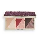 Revolution Pro Crystal Luxe Face Palette - Berry Flush