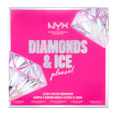 NYX Professional Makeup Diamonds and Ice Please 12 Day Lipstick Advent Calendar Christmas Countdown