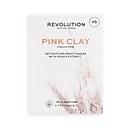 Revolution Skincare Biodegradable Detoxifying Pink Clay Sheet Mask Set