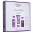 VIRTUE Flourish Nightly Intensive Hair Rejuvenation Treatment Hair Kit 3 piece