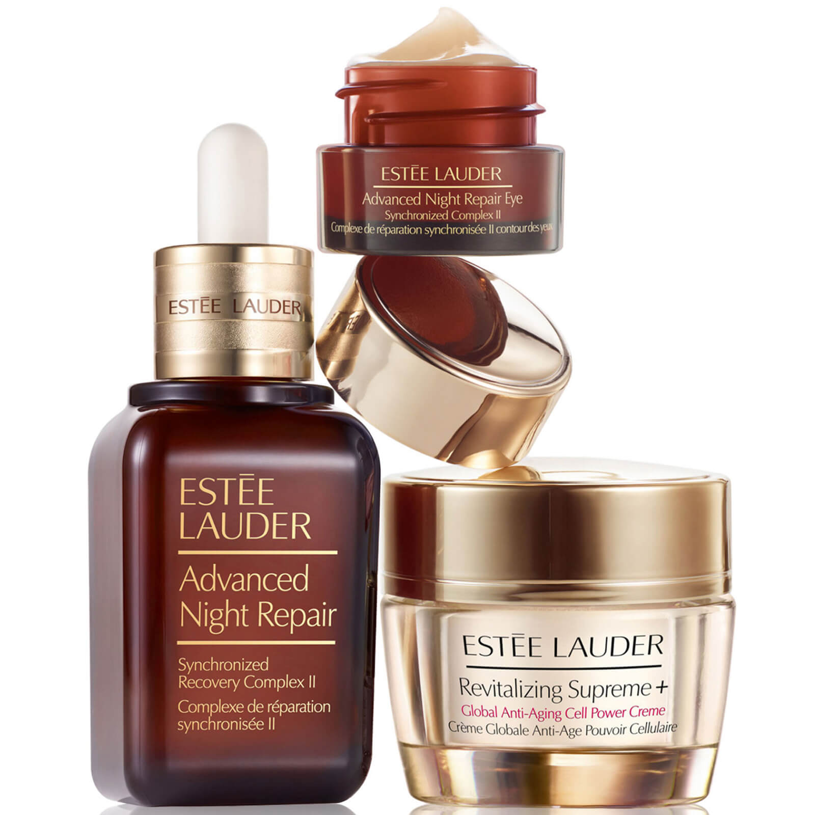 Estee Lauder Global Anti Aging Set With Full Size Advanced Night Repair Lookfantastic