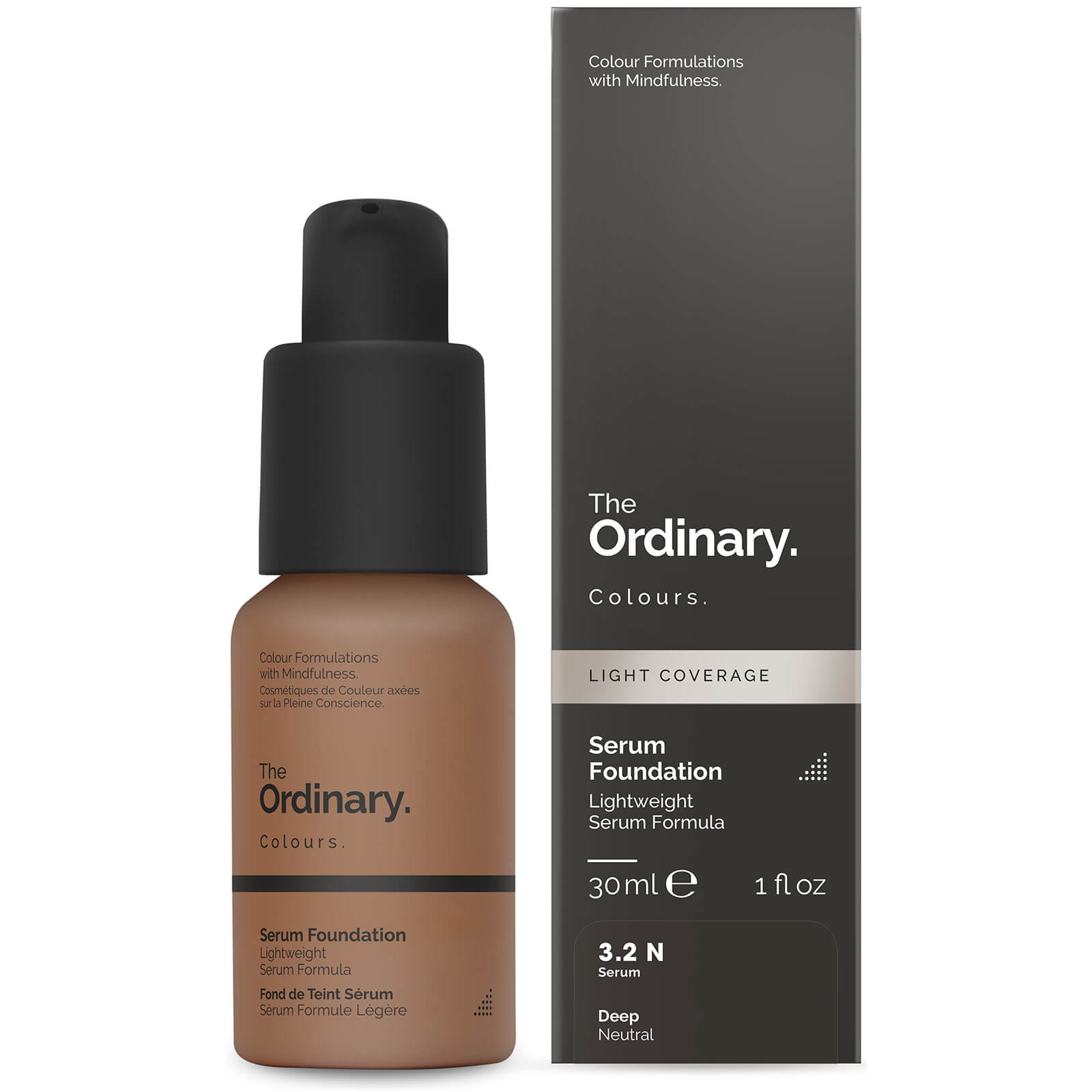 The Ordinary Serum Foundation 30ml Various Shades Skinstore