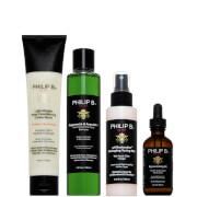 Philip B Four Step Hair and Scalp Facial Treatment Set (Worth $127)