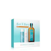 Moroccanoil Treatment 100ml with FREE Moisture Repair Shampoo & Conditioner 70ml (worth £46.25)