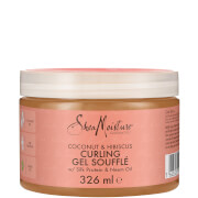 Soufflé de Gel para Caracóis de Coco e Hibisco Curl & Shine da Shea Moisture 326 ml