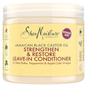 Hiuksiin jätettävä Shea Moisture Jamaican Black Castor Oil Strengthen, Grow & Restore -hoitoaine 454g