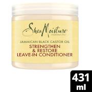 Acondicionador sin aclarado fortalecedor y reparador con aceite de ricino negro de Jamaica de Shea Moisture 454g