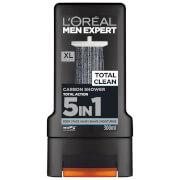 Gel de Banho Men Expert Total Clean da L'Oréal Paris 300 ml
