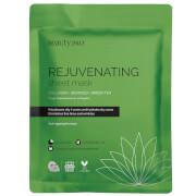 Masque-Tissu Revitalisant pour le Visage au Collagène et à l'Extrait de Thé Vert BeautyPro