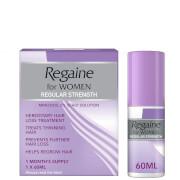 Regaine Women's Regular Strength Hair Loss and Hair Regrowth Solution 60ml