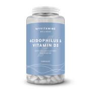 Capsule di Acidofilus e Vitamina D3