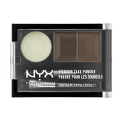 NYX Professional Makeup Eyebrow Cake Powder - Dark Brown/ Brown