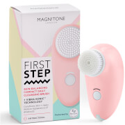 Magnitone London First Step Skin-Balancing Compact Cleansing Brush - Pink